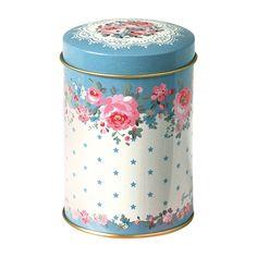 Greengate Tin flour shaker Simone blue | Nieuw! Greengate Fall / Winter '14-'15 | Bellarosa Brocante
