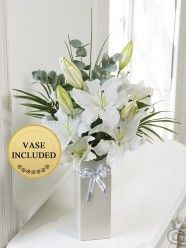 Thinking of You Vase Belfast, Dublin, Cork, Flower Delivery, Bouquet, Vase, Wreaths, Top Rated, Floral