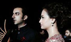 #bollywood news: Dia Mirza, Sahil Sangha engaged