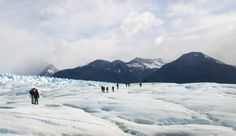 Hiking on the Southern Patagonian Ice Field (Photo Credit: Matthew Barker) #Patagonia #Chile