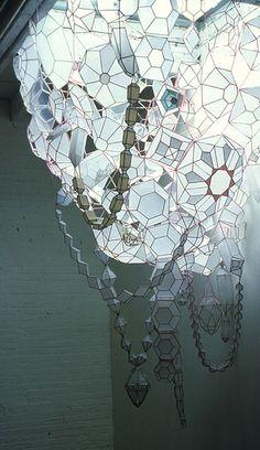 Kirsten Hassenfeld's Fragile, Ethereal Paper Gems (http://www.kirstenhassenfeld.com) | Beautiful Decay