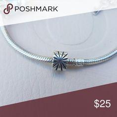 Sunburst clip! I have 1 sunburst Pandora clip available! It has minimal wear on it.  Bundles of 3 or more receive a discount! Happy shopping ?? Pandora Jewelry