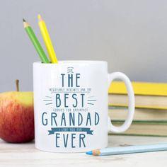 Personalised 'Best Grandad Ever' Secret Message Mug
