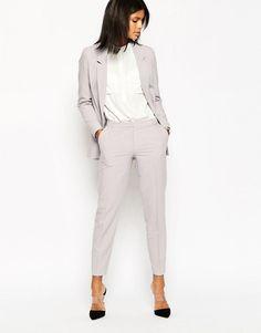 ASOS | Pantalones pitillo tobilleros en crepé de ASOS en ASOS