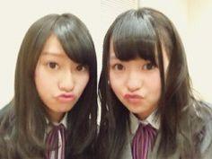 乃木坂46 (nogizaka46)  Ito Marika (伊藤 万理華)  Sakurai Reika (桜井 玲香)  ~ cute expression >