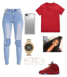 """""""Untitled #96"""" by ashanticollins3 on Polyvore featuring Ralph Lauren, NIKE, Speck and Michael Kors"""