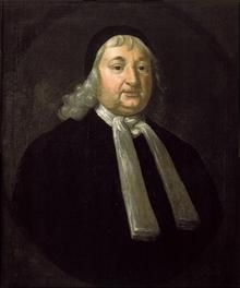 Magistrate Samuel Sewall (1652–1730)When Sarah Cloyce (Nurse's sister) and Elizabeth (Bassett) Proctor were arrested in April, they were brought before John Hathorne and Jonathan Corwin, not only in their capacity as local magistrates, but as members of the Governor's Council, at a meeting in Salem Town. Present for the examination were Deputy Governor Thomas Danforth, Assistants Samuel Sewall & others.