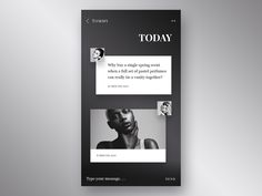 Daily UI - Direct Messaging by Gergely Bakos