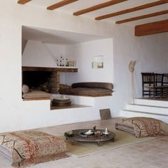 love the fireplace alcove ~ t.o.a.s.t.y!