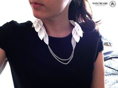 Name: Collana dea Brand: NoxCreare Designer: Noemi  Collana dea..come nellantica Grecia le foglie divento un ornamento elegante e originale.