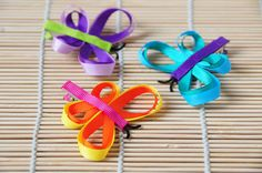Butterfly Hair Clip Girls Hair Accessories by BabyPixies on Etsy, $6.00