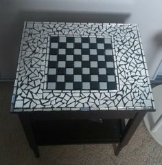 Chess MOSAIC TABLE