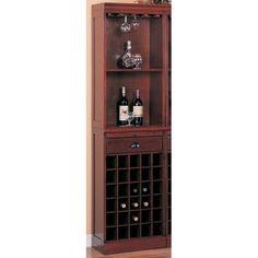 Found it at Wayfair - Bar Unit with Wine Storage