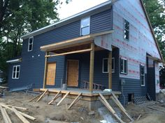 August 30,2014 The back of the house- all sided