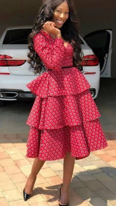 ng 🧚🧚🧚🧚🧚 Lace and Ankara dresses. from Diyanu - Ankara Dresses, Shirts & Short African Dresses, Latest African Fashion Dresses, African Print Dresses, African Print Fashion, African Prints, Africa Fashion, African Attire For Ladies, Seshoeshoe Dresses, African Traditional Wear