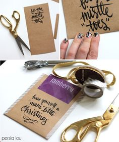 Persia Lou: Free Printable Nail-Themed Gift Tags - Plus Jamberry Giveaway!