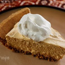 Low-fat Pumpkin Mousse Pie [ SkinnyFoxDetox.com ] #Thanksgiving #skinny #health