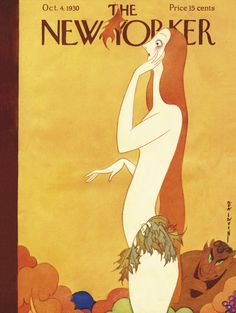 The New Yorker - Saturday, October 4, 1930 - Issue # 294 - Vol. 6 - N° 33 - Cover by : Rea Irvin