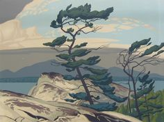 "A.J. Casson's ""The White Pine"", this is the pinnacle of Canadian painting."