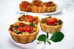 Mini Tarts with Chicken :: Home Cooking Adventure