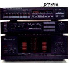 Natural Sound & Power YAMAHA M-85 C-85 T-85