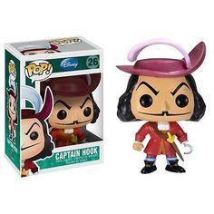 Funko Pop Vinyl Figure Disney Series 3 Captain Hook | eBay