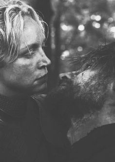 Brienne and Jaime.  Just Kiss the girl!  :D
