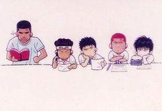 Haha Manga Boy, Anime Manga, Slam Dunk Anime, Inoue Takehiko, I Love Basketball, Anime Stars, Collages, Comic Panels, Slammed