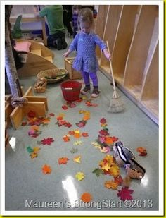 Exploring fall through play!