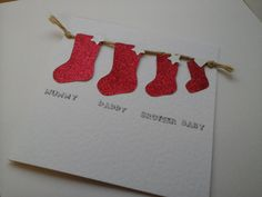 Stockings and Snowflakes by Jane Allsop on Etsy