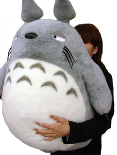 Big-ass Totoro pillow-thingy