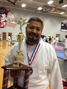 1st Degree Black Belt Carl Malone took 1st in sparring and 2nd in forms at the CTF Regional Tournament in Olive Branch, MS, Aug. 18, 2012.