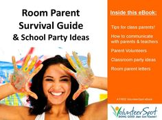 """Room Parent"" Survival Guide & School Party Ideas..."