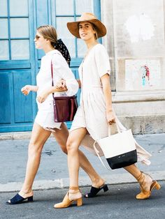 Summer Outfit Ideas: 14 Sartorial Moves Cool Girls Are Making via @WhoWhatWearUK