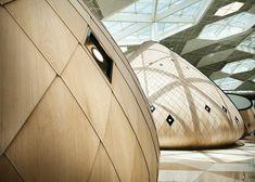 Autoban designs Heydar Aliyev International Airport terminal in Baku  its like a punch in my face.  REFRESHING!