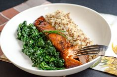 Brown Sugar Salmon. Salmon is rich in nutrients and flavor, and the caramelized coat is a sweet touch. Tip: Bake on aluminum foil. Trust us.