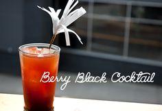 Berry Black tea Cocktail 1 English Breakfast tea bag 1/2 cup hot water 1/2 cup sugar 2 oranges 3 large strawberries 2 ounces vodka