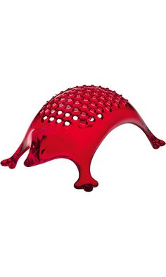 Koziol KASIMIR Hedgehog Cheese Grater, transparent red Best Price