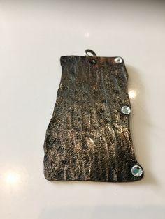 Taschenanhänger Bronze patiniert Bronze, Industrial Style, Sequin Skirt, Sequins, Facebook, Design, Fashion, Handarbeit, Schmuck