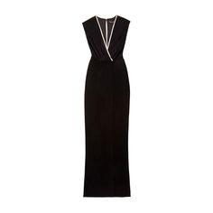 Rachel Zoe Collection Swann V-Neck Gown