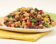 PCC Couscous and Bean Salad: An easy dish to prepare, that can be served as a main course or side.