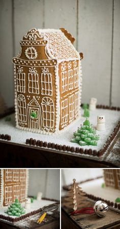 Amsterdam Gingerbread House  |  Adeline & Lumiere  #christmas #baking #gingerbreadhouse #adelineandlumiere
