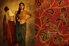 buy silk cotton ajrakh sarees online