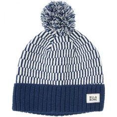 Billabong Thurso Youth Boys Beanie Hats, color: Cobalt, category/department: boys-beanies