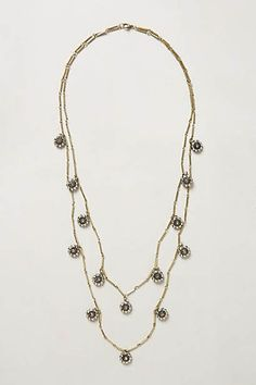 Cactus Bloom Necklace $38.00 | Anthropologie