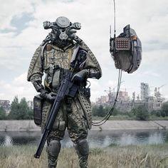 "9,682 Likes, 10 Comments - E M P I R E _O F_ F U T U R E (@empire_of_future) on Instagram: ""By Kait Kybar . . #empireoffuture #robot #scifi #fantasy #art #digitalart #game #war #amazing…"""