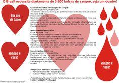 Crítica Construtiva ao Comportamento: Campanha: Doe Sangue!