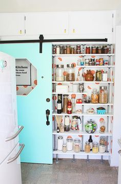 Cute Mini Pantry wit