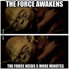Every single morning!