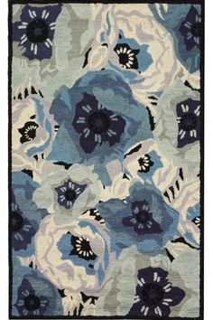 Martha Stewart Living&#153 Poppy Area Rug, 8'x10' Blue, $629